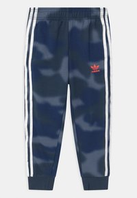 adidas Originals - CAMO HOODED SET UNISEX - Tracksuit - crew navy/crew blue - 2