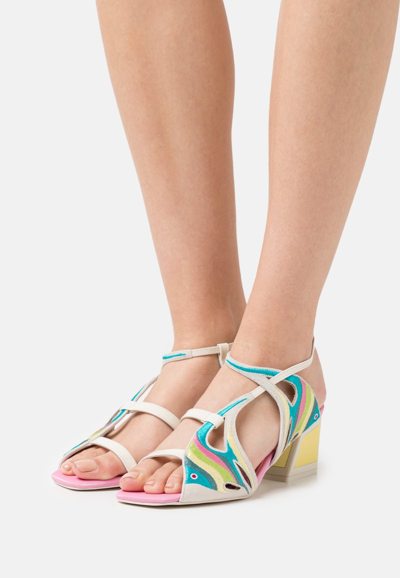 Kat Maconie - DORY - Sandals - flamingo/lemonade