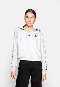 Kappa - IVAINE - Sweatshirt - high-rise melange - 0