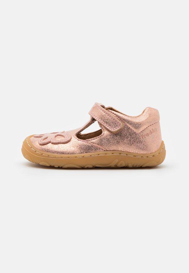 MINNI  - Ankle strap ballet pumps - pink