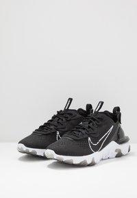 Nike Sportswear - REACT VISION  - Sneakers - black/white - 2