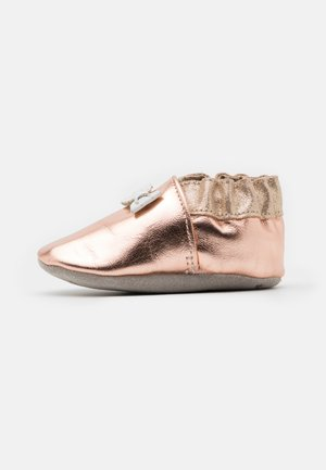 COLLECTION KNOT - First shoes - rose metal