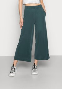 Monki - Bukse - dark green - 0