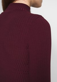 New Look - Topper langermet - dark burgundy - 4