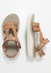 Teva - MIDFORM ARIVACA WOMENS - Chodecké sandály - aviles chipmunk - 1
