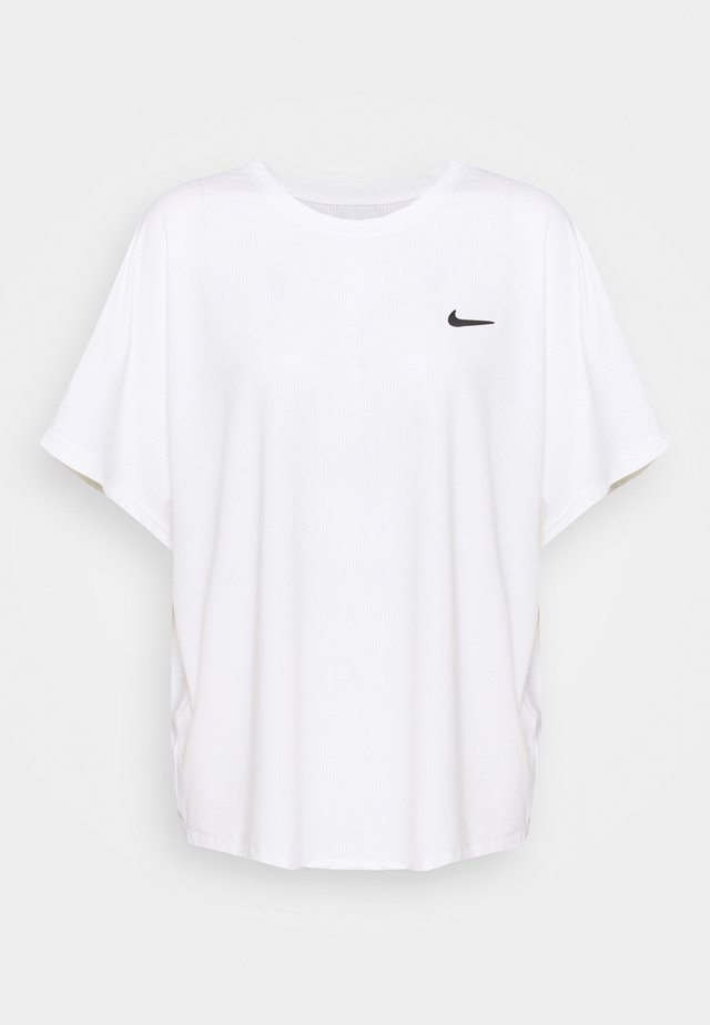 PLUS - T-shirt basic - white/black