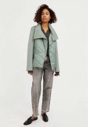 Winter jacket - grey-green