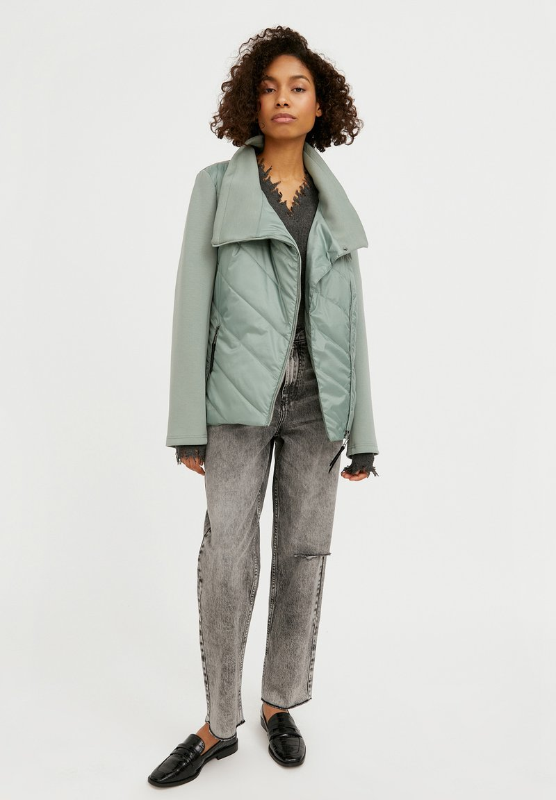 Finn Flare - Winter jacket - grey-green