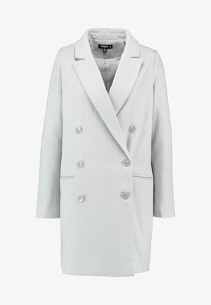 DOUBLE BREASTED FORMAL COAT - Abrigo - grey