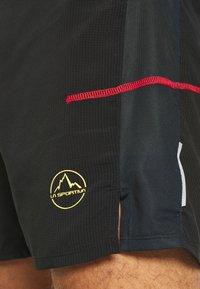 La Sportiva - FRECCIA SHORT - Sports shorts - black/yellow - 4