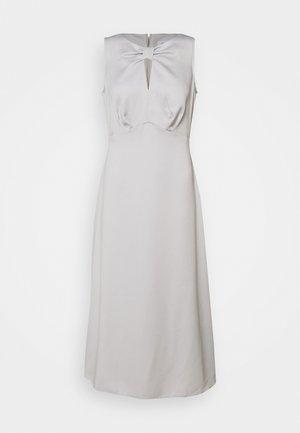 BOW DETAIL A LINE DRESS - Cocktail dress / Party dress - silver
