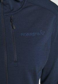 Norrøna - SVALBARD HOOD - Long sleeved top - indigo night - 4
