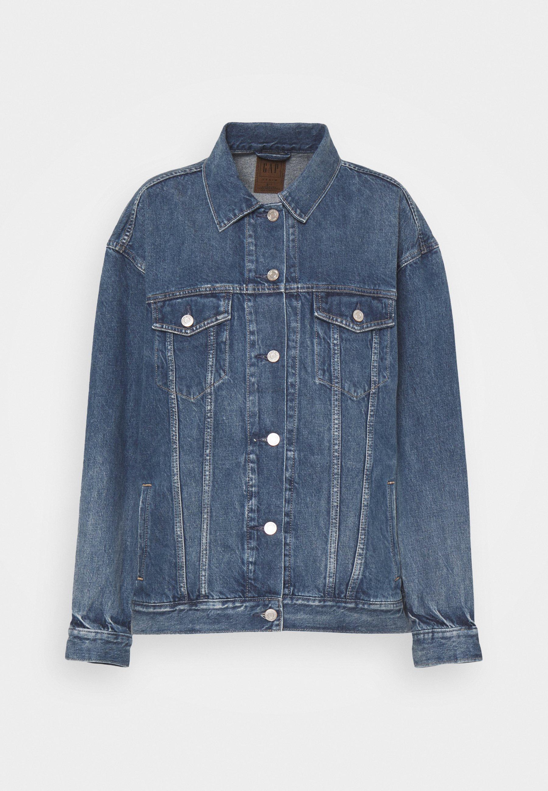Women OVERSIZED DAD JACKET - Denim jacket
