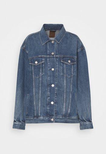 OVERSIZED DAD JACKET - Denim jacket - medium indigo