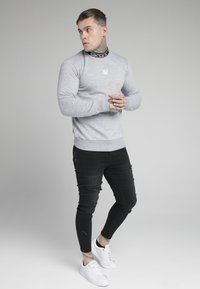 SIKSILK - ESSENTIAL HIGH NECK - Mikina - grey - 1