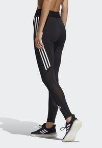 adidas Performance - TECHFIT STRIPES LONG - Medias - black/white - 2