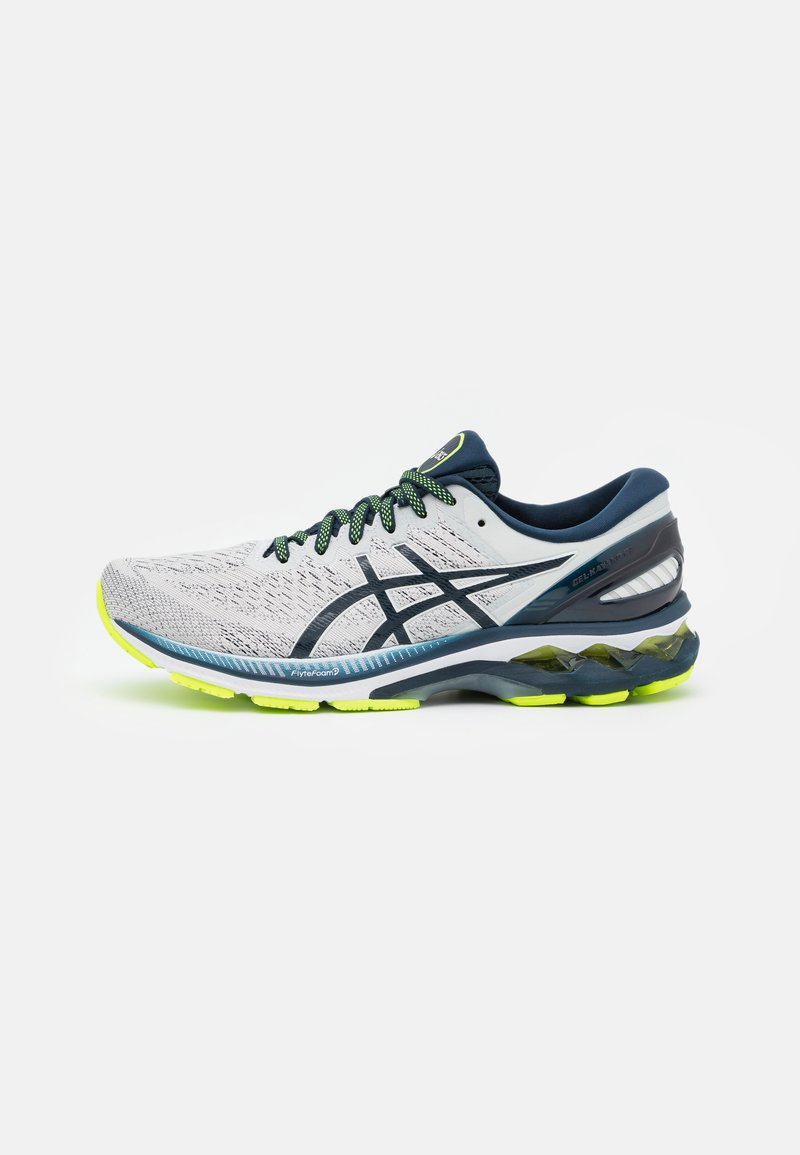 ASICS - GEL KAYANO 27 - Chaussures de running stables - glacier grey/french blue