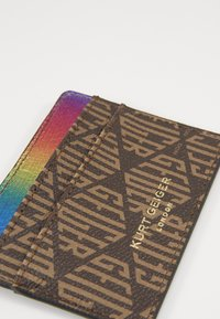 Kurt Geiger London - MONOGRAM CARD HOLDER - Wallet - brown