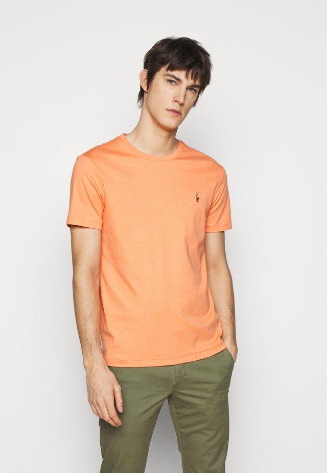 PIMA - T-shirt basic - true orange heath