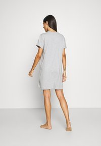 Marc O'Polo - SLEEPSHIRT CREW NECK - Pyjama top - grau-meliert - 2
