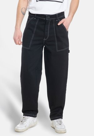 X-TRA WORK - Trousers - black