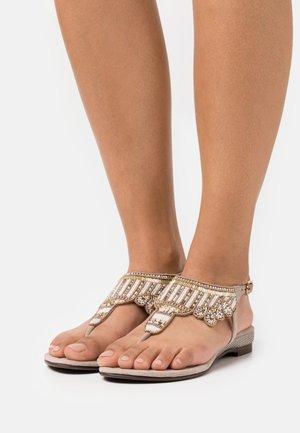 Sandalias de dedo - biscuit