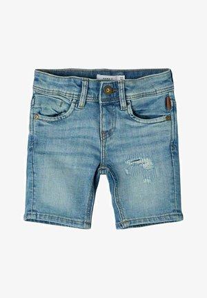 Shorts di jeans - light blue denim