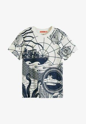 Print T-shirt - combo z