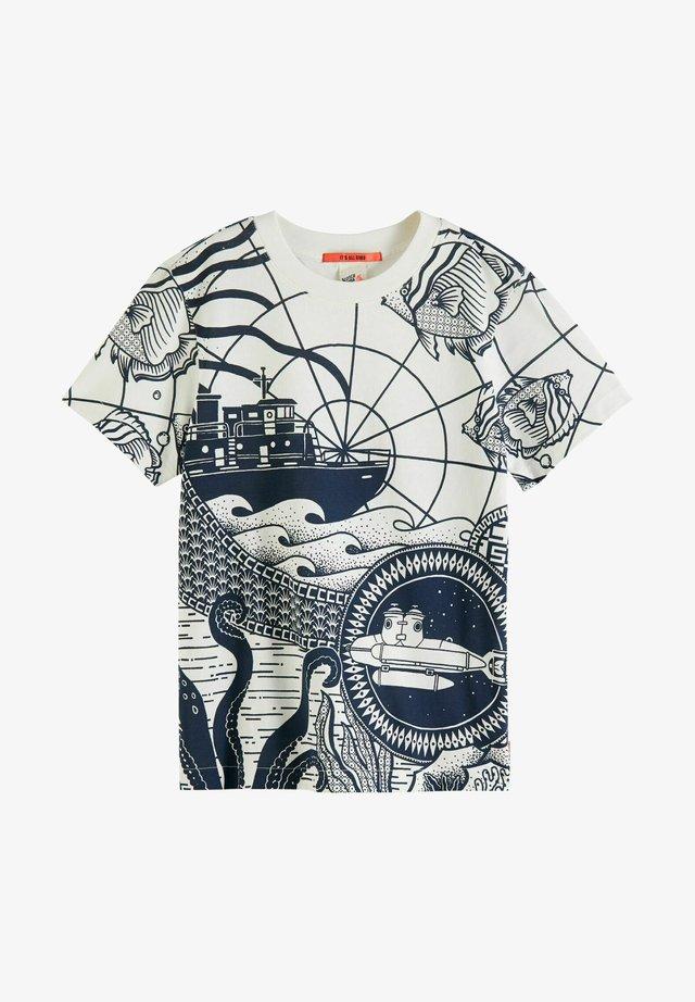 T-shirt print - combo z