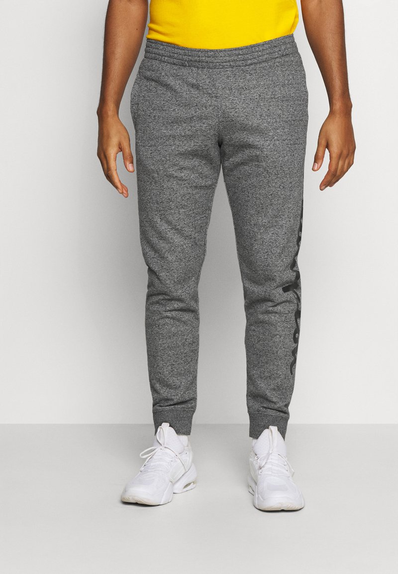 Champion - CUFF PANTS - Tracksuit bottoms - mottled dark grey