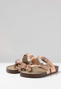 Madden Girl - BRYCEEE - T-bar sandals - rose gold - 4