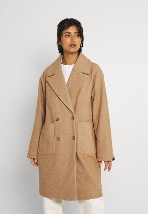 VILUNES HERRINGBONE COAT - Classic coat - tigers eye