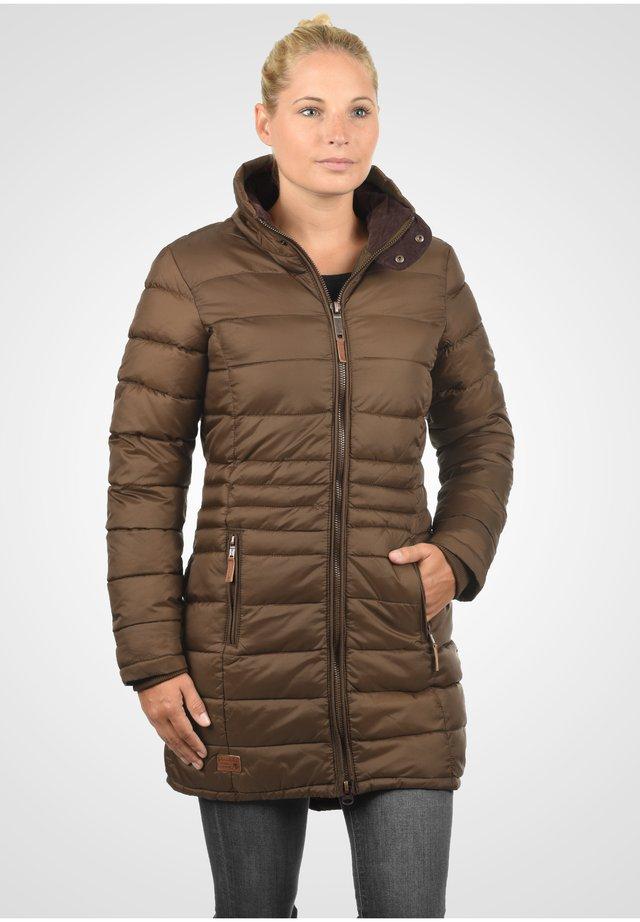 STEPPMANTEL CARLOTTA - Cappotto invernale - brown