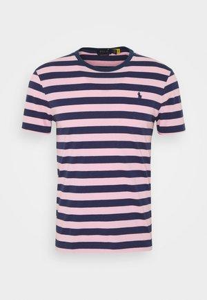 CUSTOM SLIM STRIPED T-SHIRT - Print T-shirt - boathouse navy