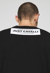 Just Cavalli - Triko spotiskem - black - 4