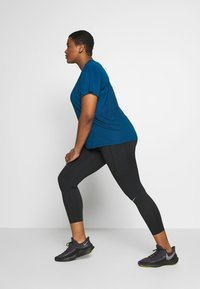 Nike Performance - DRY MILER PLUS - Basic T-shirt - valerian blue - 1