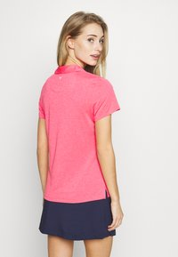 Callaway - SHORT SLEEVE 1/4 ZIP - Sports shirt - camella rose heather - 2
