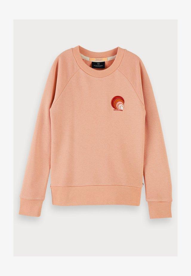 branded long sleeve - Sweatshirt - coral rock