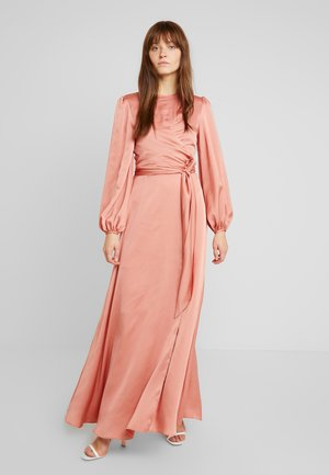 RIGHT HERE GOWN - Iltapuku - salmon