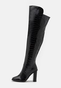 RAID Wide Fit - WIDE FIT CYNTHIA - Over-the-knee boots - black - 1