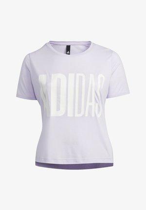 UNIVERSE T-SHIRT - T-shirt med print - purple