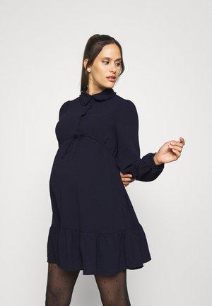 OLMLIA SHORT DRESS - Shirt dress - evening blue