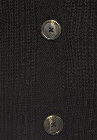 Vero Moda - VMLEA V NECK CARDIGAN  - Cardigan - black - 2