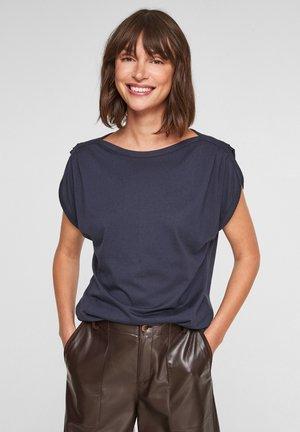 LOOSE FIT - T-shirt print - dark blue