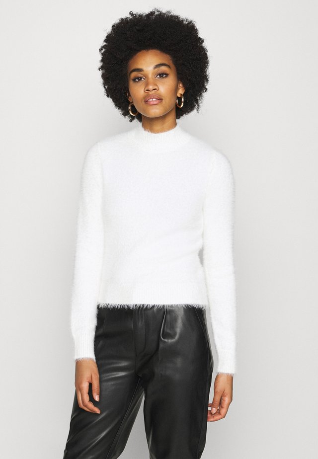 LASH FLUFFY JUMPER - Maglione - white