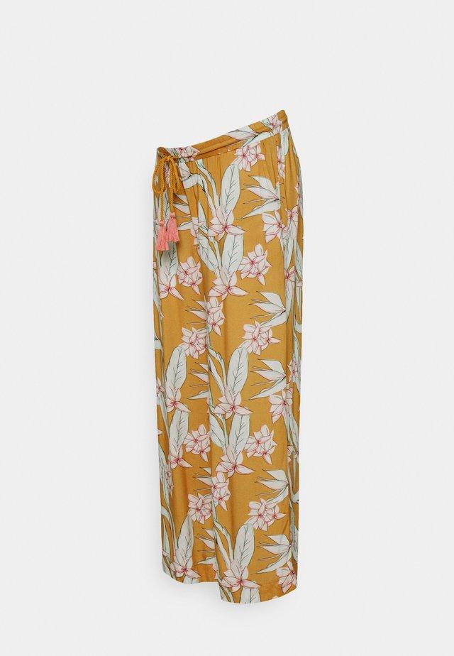 SPIRIT HOUSES - Trousers - ochre