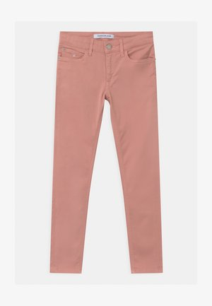 SKINNY - Trousers - pink