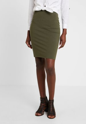 PENNY  - Pencil skirt - grape leaf