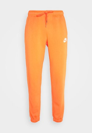PANT - Tracksuit bottoms - electro orange/(reflective)