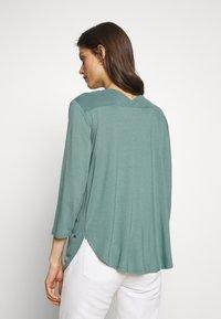 Betty & Co - Long sleeved top - sagebrush green - 2